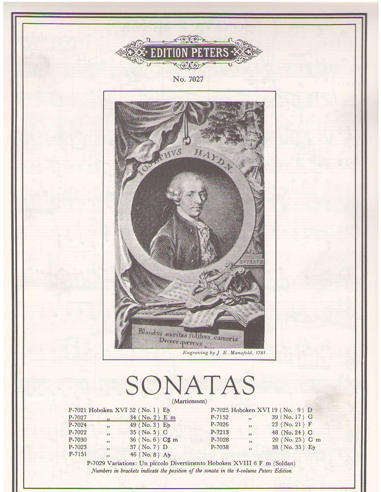 theory analysis on haydns piano sonata Form and analysis depauw university piano sonata in d major, haydn this piano sonata is in 5 part rondo form.